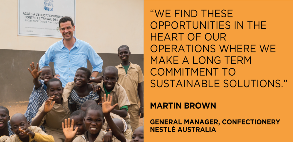 Martin Brown Nestle SV Interview