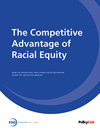 The competitive advantage of racial equity - cover